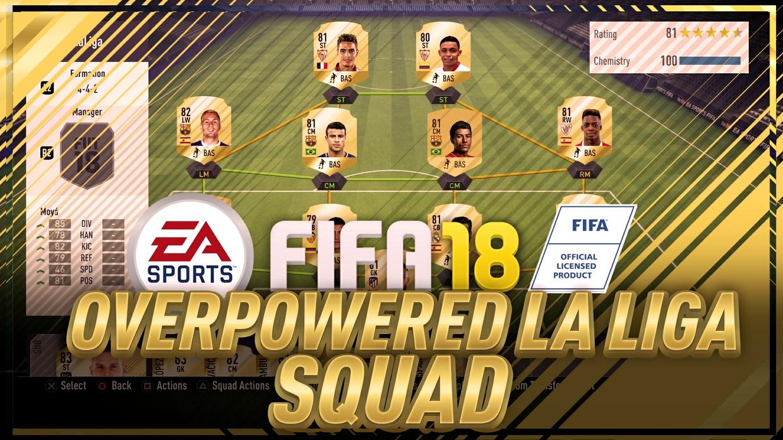 EDITABLE FIFA 18 SQUAD BUILDER THUMBNAIL! FIFA 18 ULTIMATE TEAM TEMPLATE