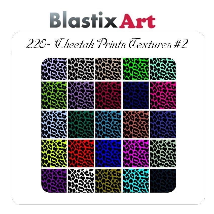 220- Cheetah Prints Textures #2