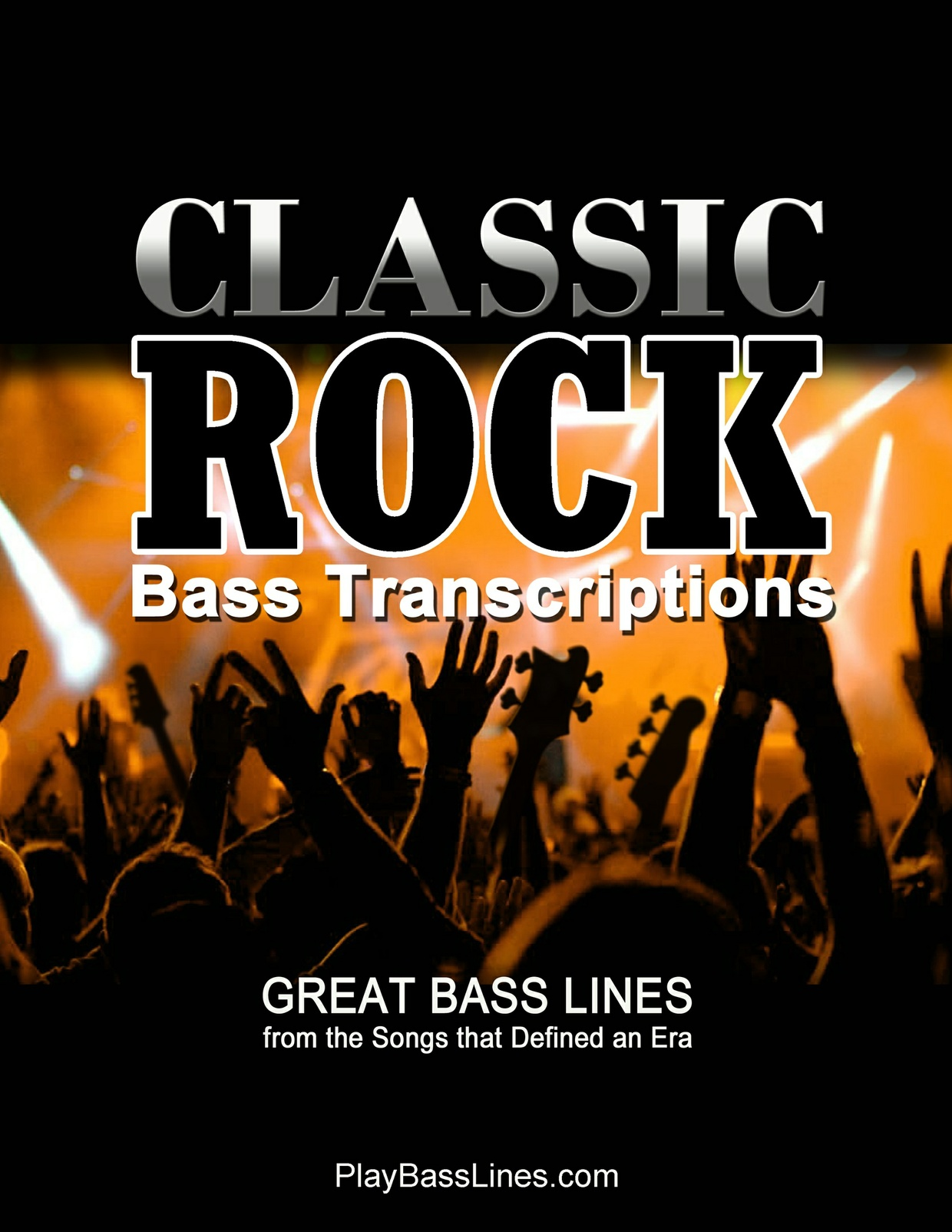 Classic Rock Bass Transcriptions, Vol 1