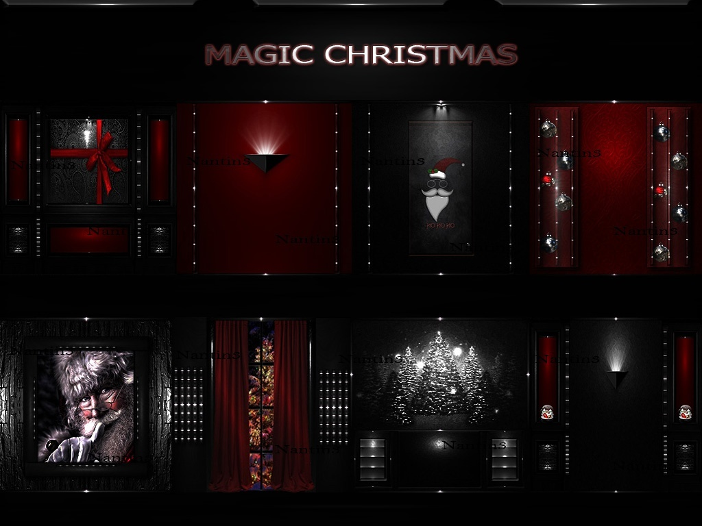 MAGIC CHRISTMAS ..!!! 53Textures 256x256jpg.