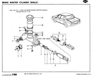 Datsun 2400 2000 Parts Catalog
