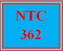 NTC 362 Entire Course