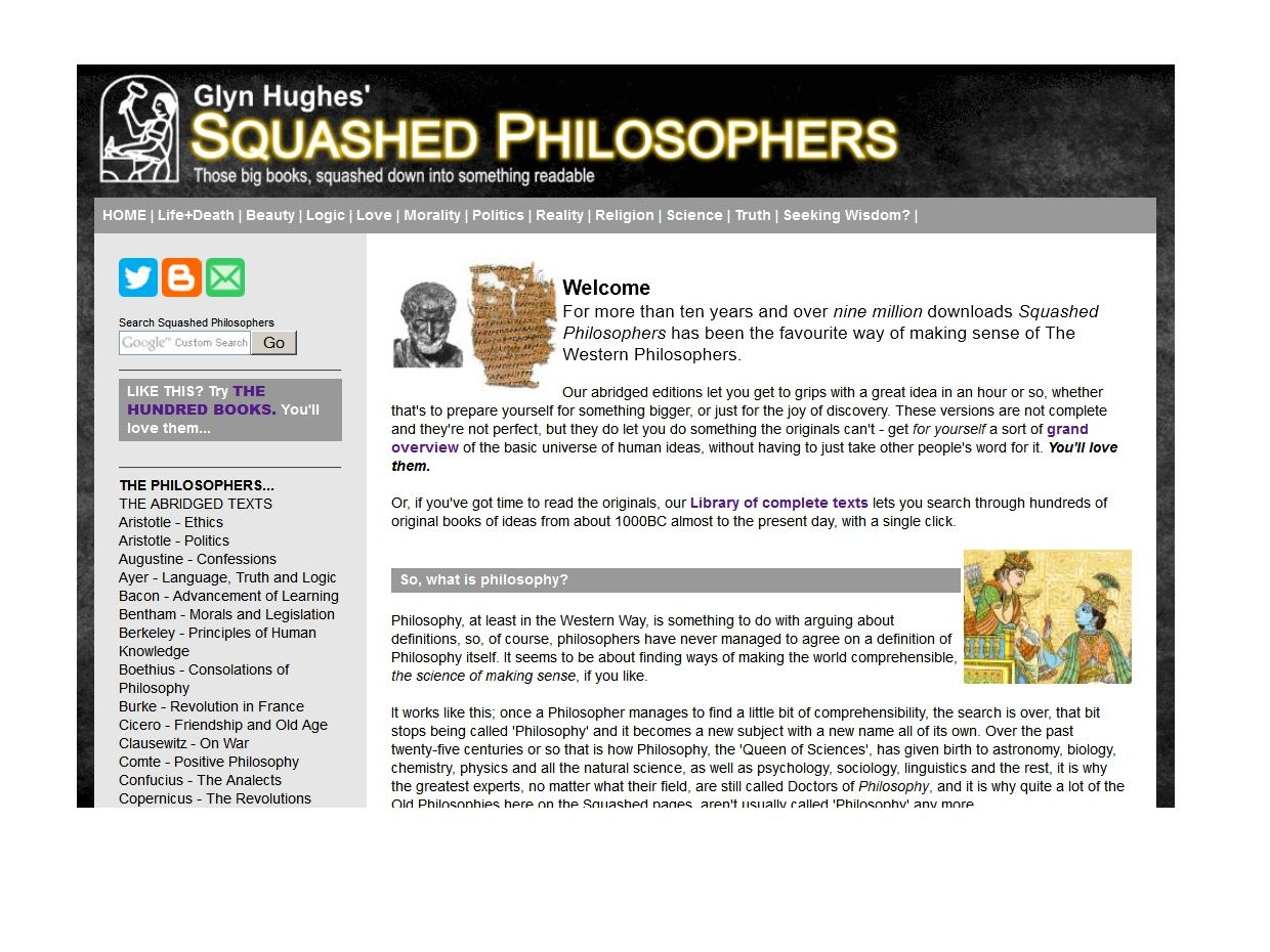Complete Squashed Philosophers