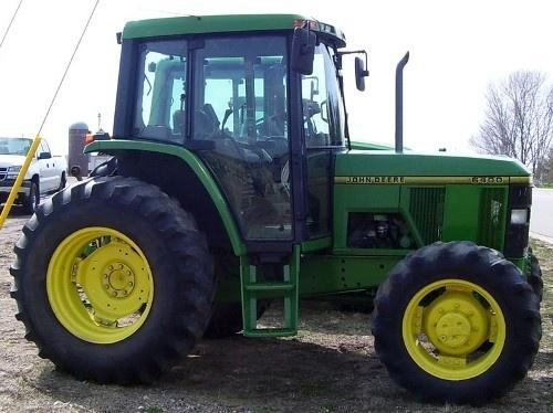 John Deere 6200, 6200L, 6300, 6300L, 6400, 6400L, 6500, 6500L Tractors Service Repair Manual(tm4523)