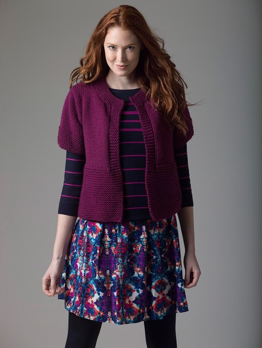 Beginner Knit Cardi
