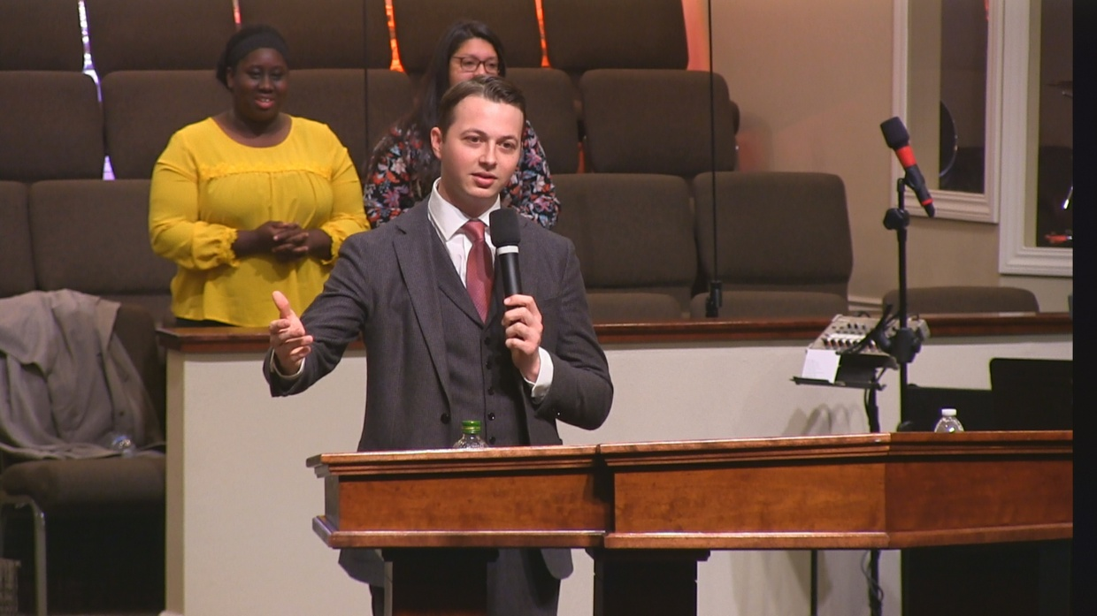"Rev. Zack Parkey 11-19-17pm "" His Strength In My Weakness "" MP4"