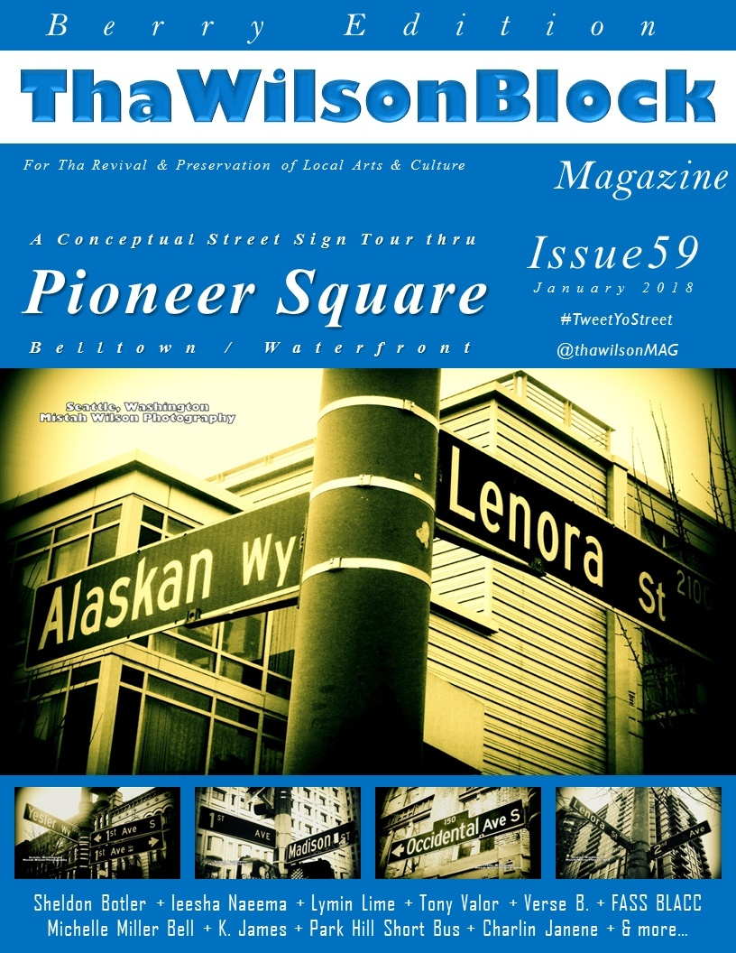 ThaWilsonBlock Magazine Issue59 (Berry Edition / January 2018)