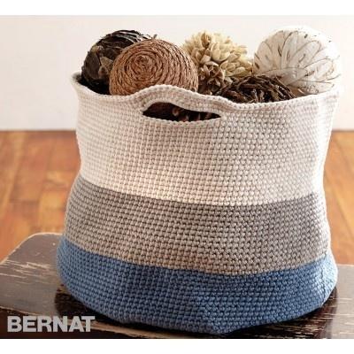 Handy Crochet Basket