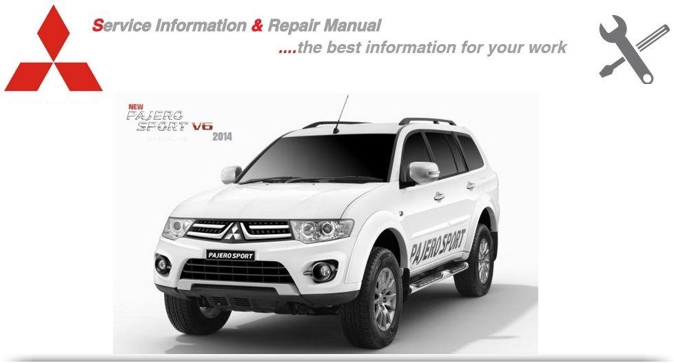Mitsubishi Pajero Sport 2011-2014 Workshop Manual
