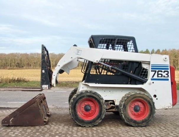 Bobcat 763, 763 HIGH FLOW Skid Steer Loader Service Repair Workshop Manual DOWNLOAD