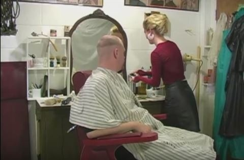 Alucard's Face and Nape Shave and Haircut