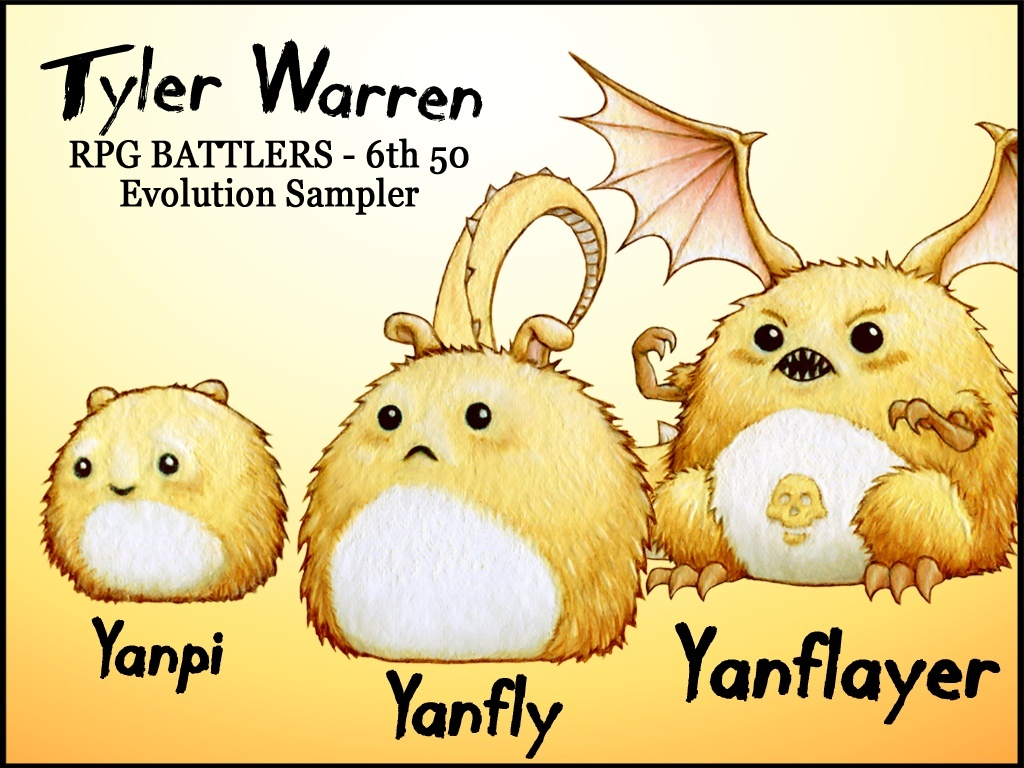 FREE - Tyler Warren RPG Battlers - 6th 50 - Yanfly Evolution Sampler