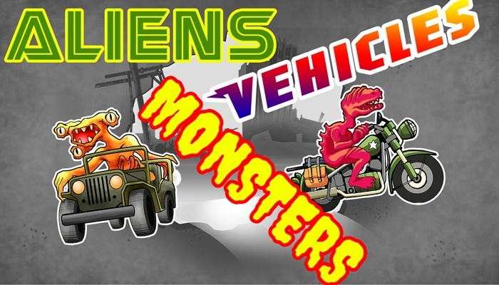 Aliens, Monsters & Vehicles