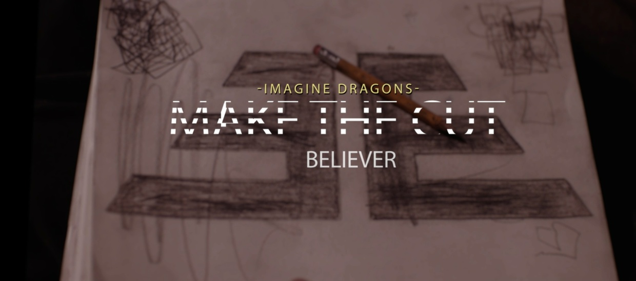 Make The Cut Imagine Dragons After Effects CC Project File