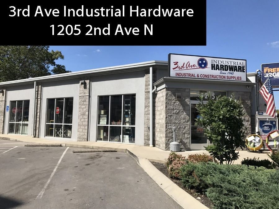 3rd Ave Hardware; Monday - Friday after 5pm until 3am