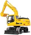 Hyundai Wheeled Excavator R210W-9S Service Repair Manual Download