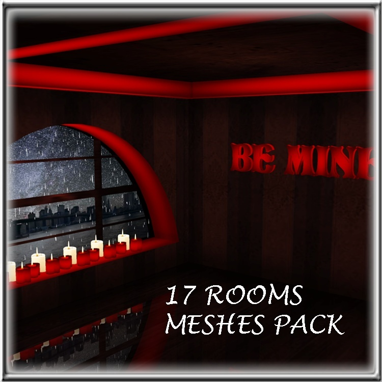 17 ROOMS MESHES PACK