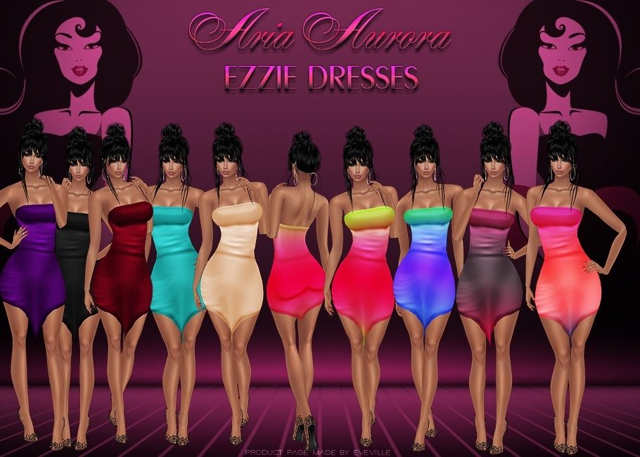 Ezzie Dresses+Psd(Sis3D) Chatty Only