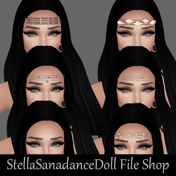 S64 Headband & Eyebrows