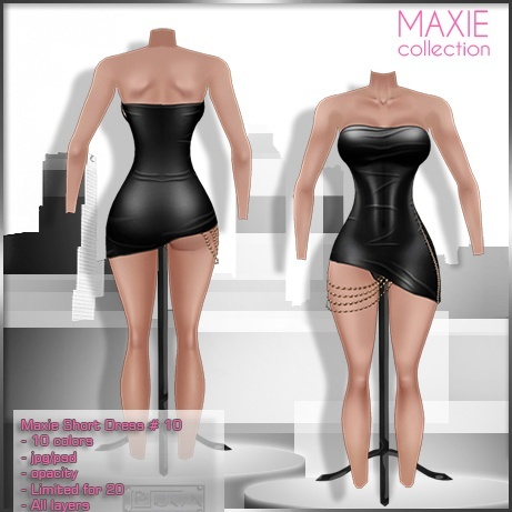 2014 Maxie Short Dress # 10