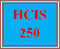 HCIS 250 Week 2 Health Information Exchange Reference Manual