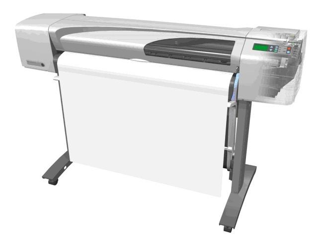HP DesignJets 500, 800 Series Large-Format Printers Service Repair Manual