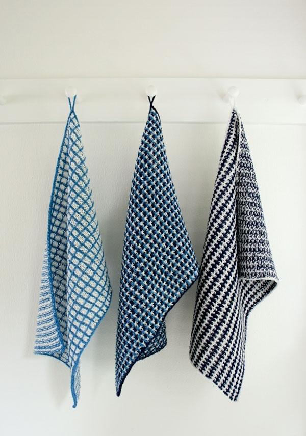 Slip Stitch Dish Towels