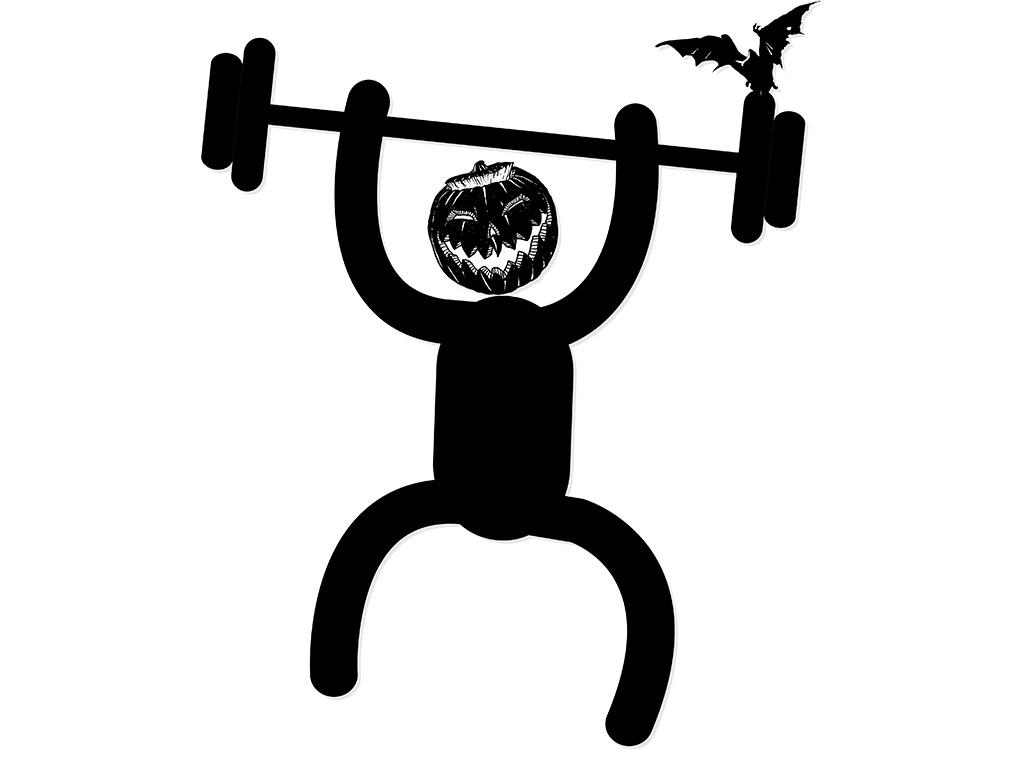 T-shirt Design 'Halloween For Fun'