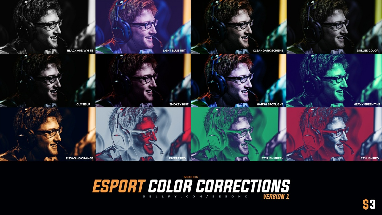 Esports Color Correction Pack