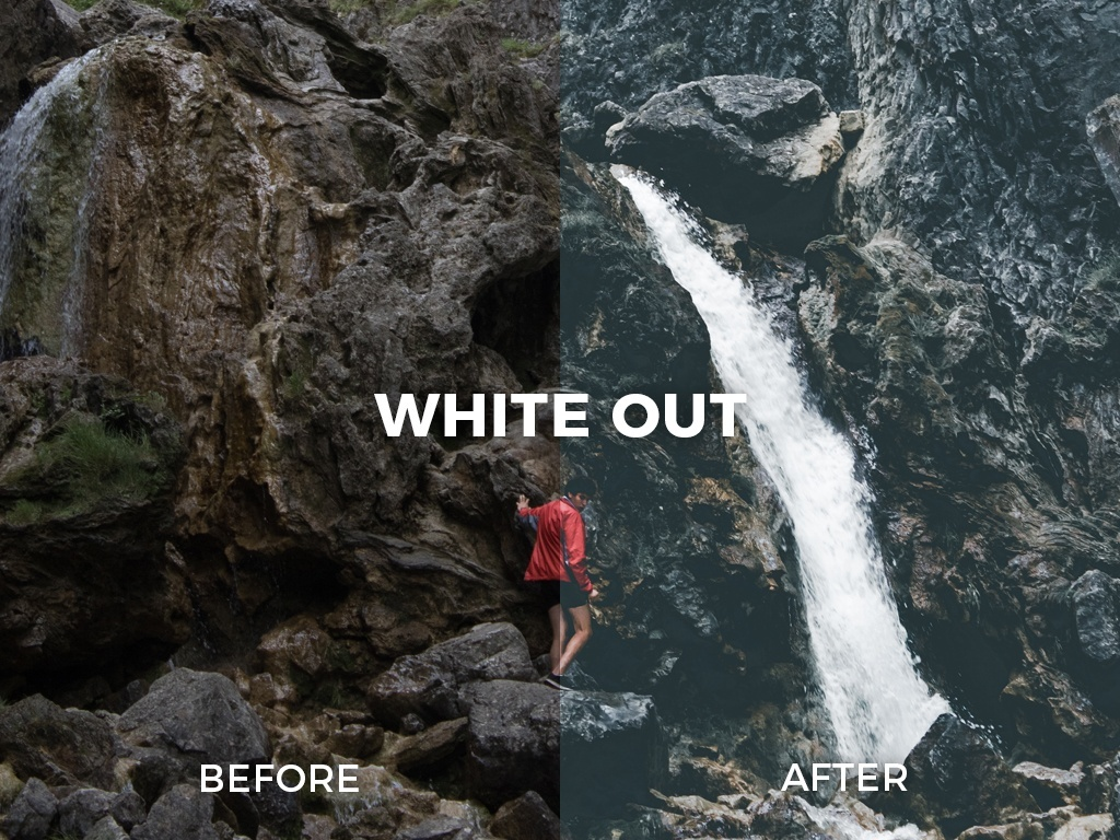 WHITE OUT LIGHTROOM PRESET