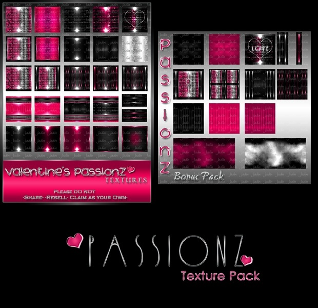 Passionz Texture Pack + FREE Bonus Pack-- $6.00
