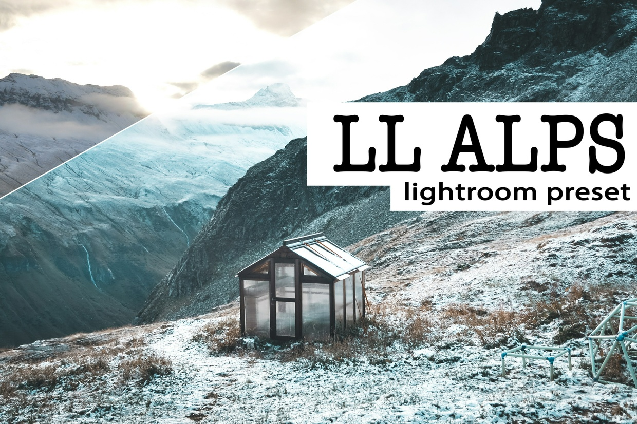 LL ALPS - Lightroom Preset (for RAWs + JPEGs)
