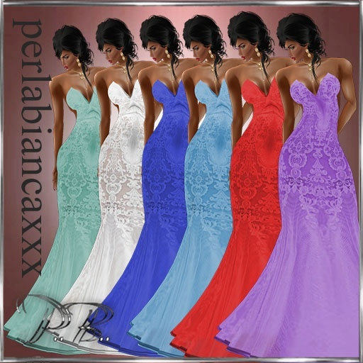 Elegant lace 6 color 1.50