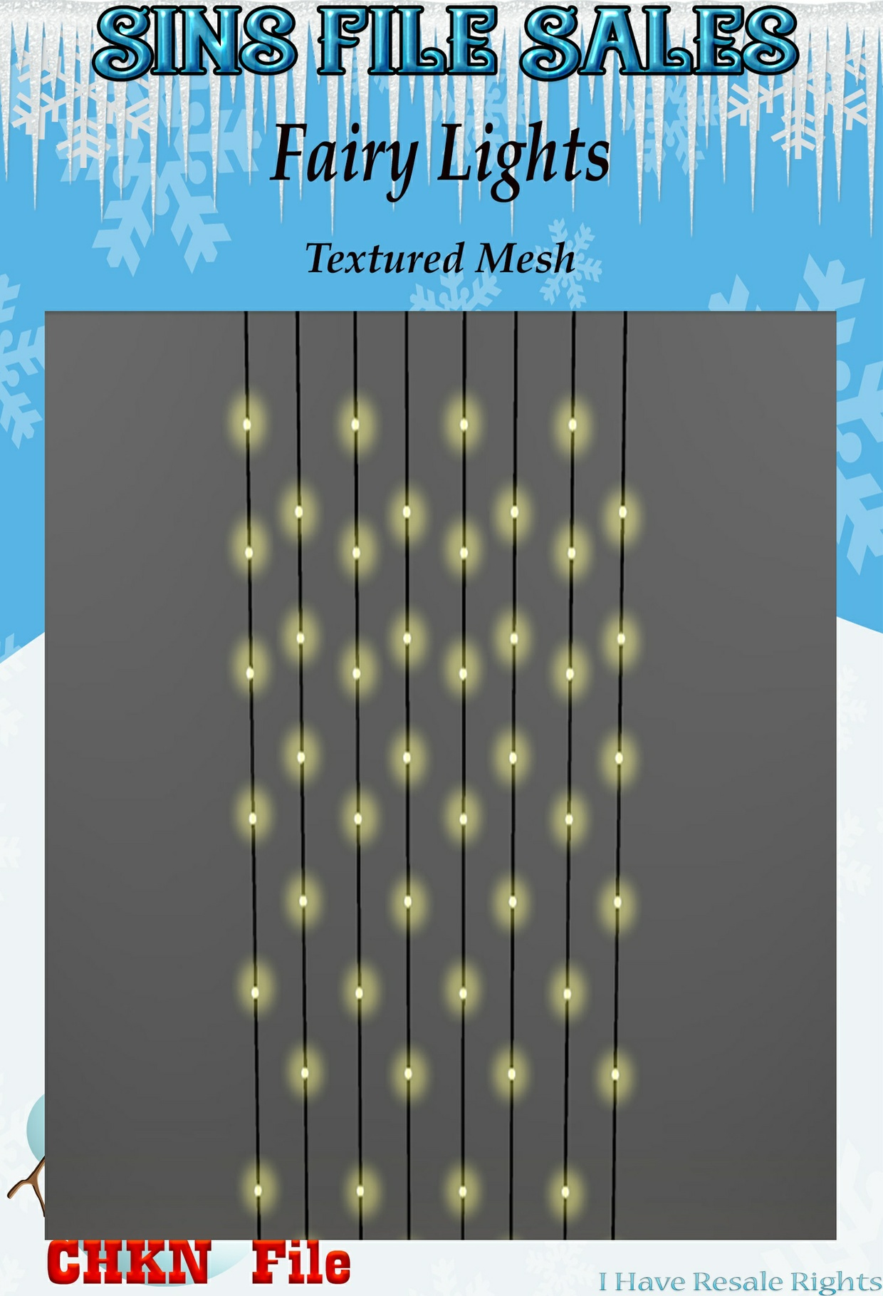 Fairy String Lights Mesh (CHKN)