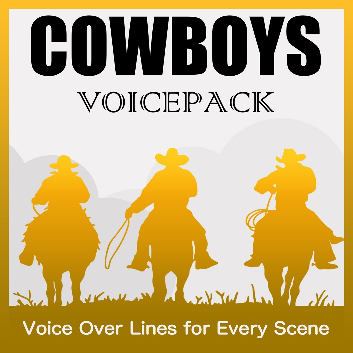 COWBOY VOICES - Royalty-Free Voice SFX Download