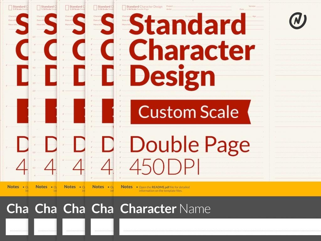 Procreate Character Design Tutorial : Standard character design for procreate neil collyer