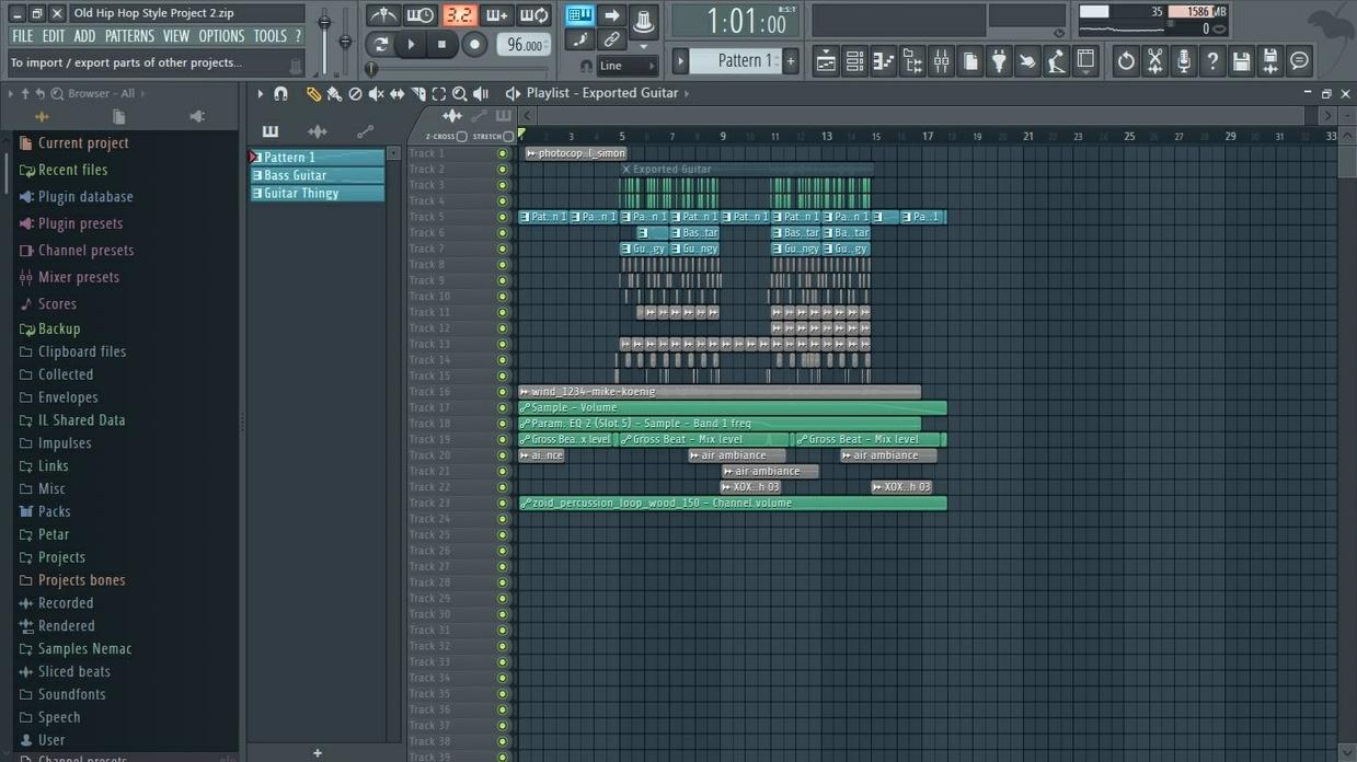 Hip Hop Project 2 (+FLP)