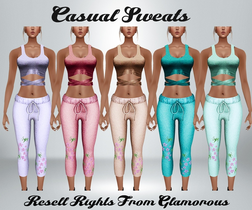 Casual Sweats Catty Only!!!