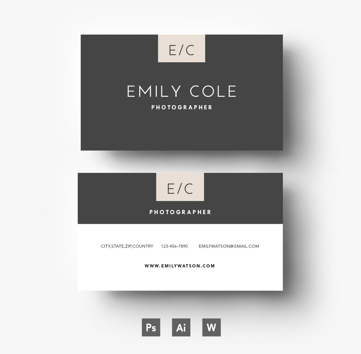 Easy editable business card template layered psd file reheart Choice Image