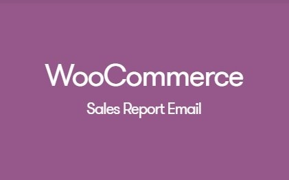 WooCommerce Sales Report Email 1.1.3 Extension