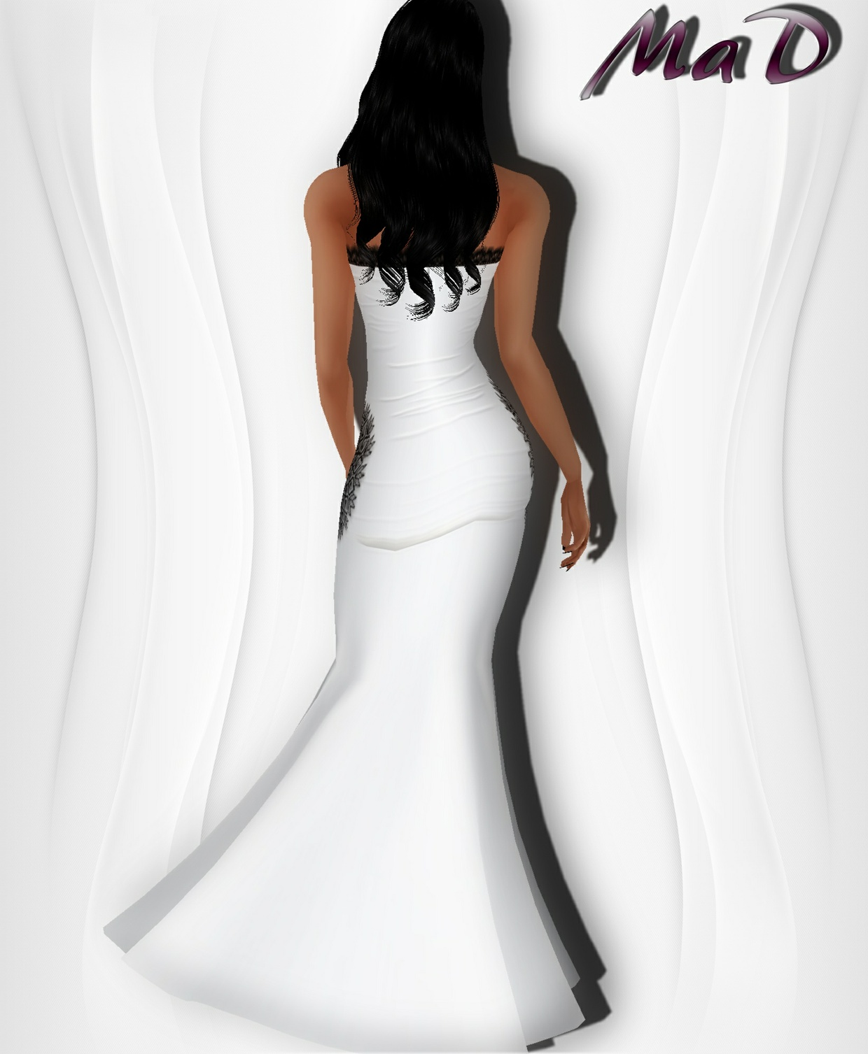 MaD Zeta Dress WITH RESELL RIGHTS