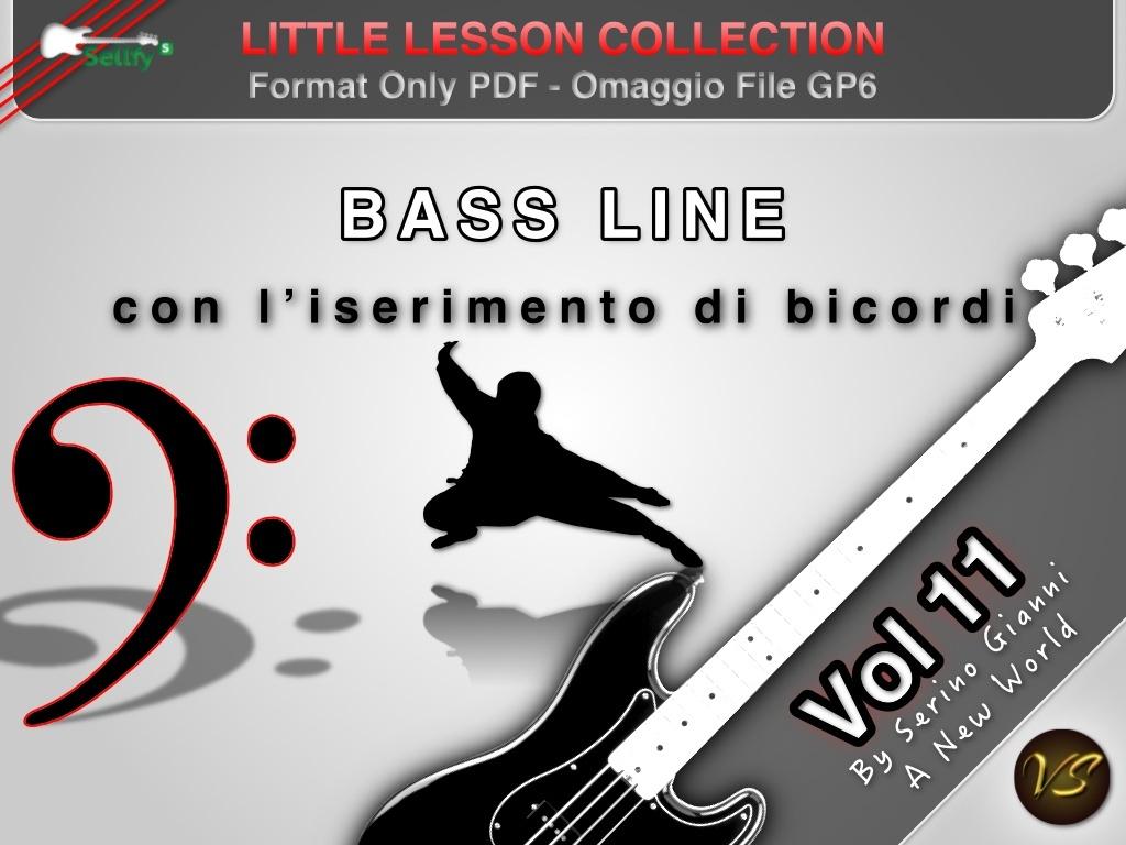 LITTLE LESSON VOL 11 - Format Pdf (in omaggio file Gp6)