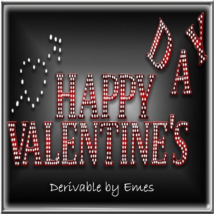 HAPPY VALENTINE'S DAY SIGN MESH