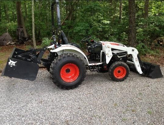 Bobcat CT225, CT230 Compact Tractor Service Repair Manual (S/N A59B11001 , A59C11001 & Above)