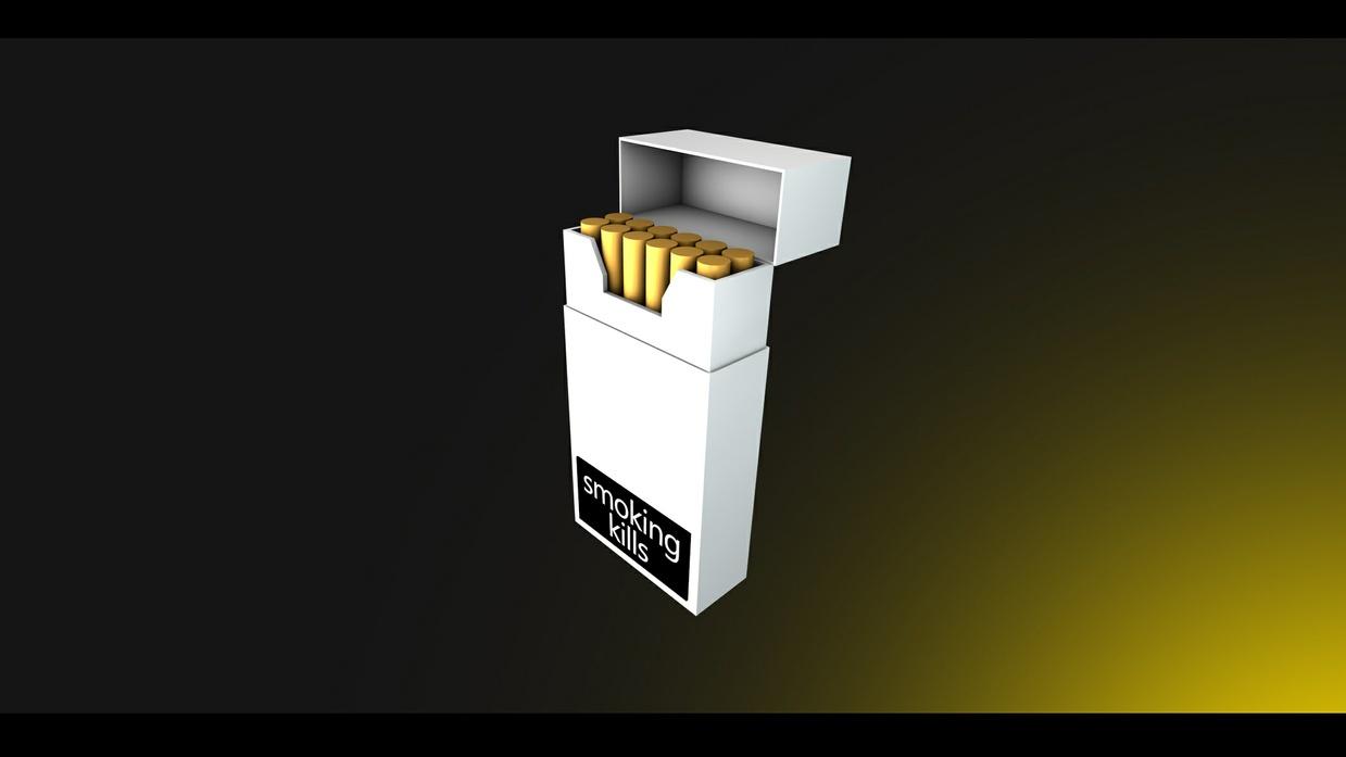 Cigarette Pack Rig - [CINEMA 4D]
