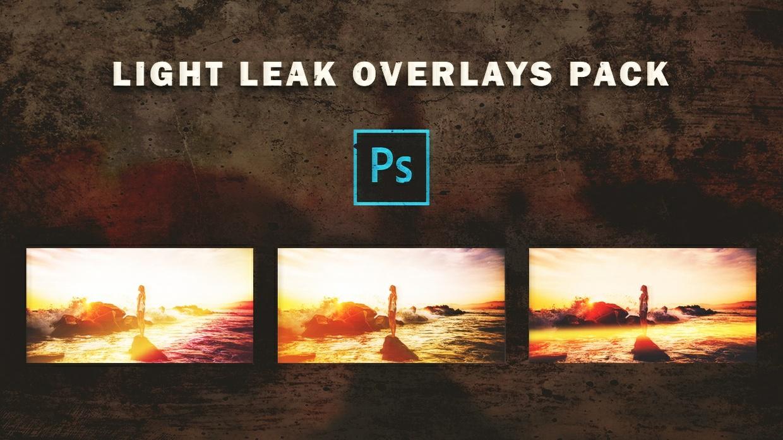 Light Leak Overlays Pack