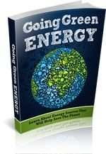 Going Green Energy