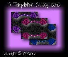 3 Temptation Catalog Icons