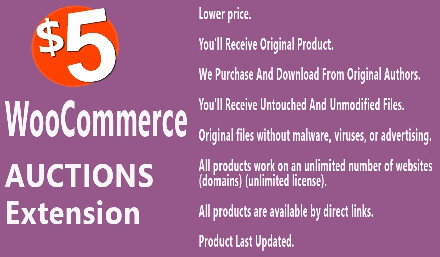 YITH WooCommerce Auctions Premium Extension