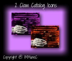 2 Claw Catalog Icons